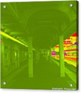 Train Station Series Acrylic Print