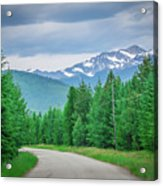 Vast Scenic Montana State Landscapes And Nature Acrylic Print