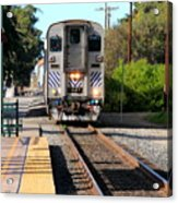 Ventura Train Station Acrylic Print