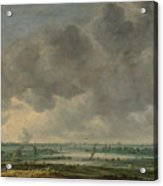View Of Haarlem And The Haarlemmer Meer Acrylic Print
