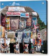 Village Of Coba Acrylic Print