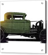 5 Window Hot Rod Acrylic Print