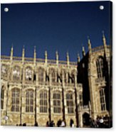 Windsor Castle England United Kingdom Uk Acrylic Print