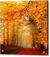 Landscape Artwork Acrylic Print