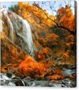 Nature Landscape Oil Painting Acrylic Print