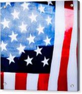 50 Stars 13 Bars Acrylic Print by Keith Sanders