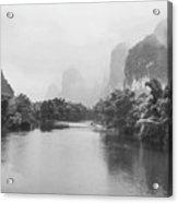 Yulong River Scenery Acrylic Print
