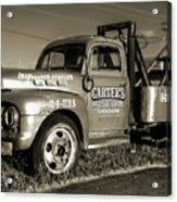 50's Wrecker Truck Acrylic Print