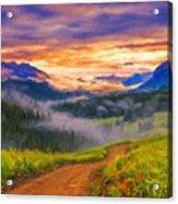 Art Landscape Acrylic Print