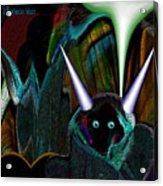 527   Little Alien Being A Acrylic Print