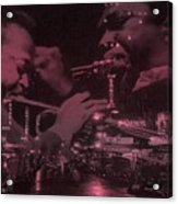 52nd Street Miles And Coltrane Acrylic Print
