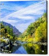 Nature New Landscape Acrylic Print