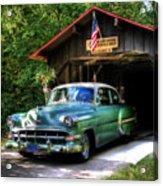 54 Chevy Acrylic Print