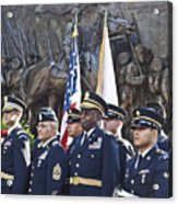 54th Regiment Bos2015_183 Acrylic Print
