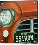 55 Iron Acrylic Print