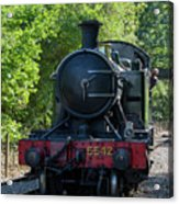 5542 On The The Points Acrylic Print