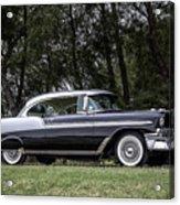 56 Chevy Bel Air Acrylic Print