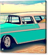 56 Nomad By The Sea In The Morning With Vivachas Acrylic Print
