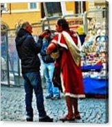 winter in Rome Acrylic Print