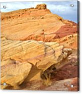 Valley Of Fire Acrylic Print