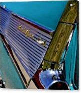 57 Chevy Bel Air Acrylic Print