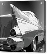 57 Chevy Horizontal Acrylic Print