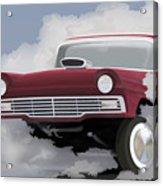57 Ford Gasser Acrylic Print