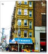 57 Market New York City Acrylic Print