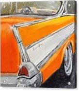 '57 Tangerine Acrylic Print
