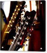 5796-001 Washburn - Guitar Acrylic Print