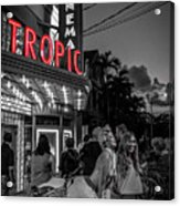 5828- Tropic Theater Acrylic Print