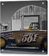 581 Bonneville Race Car Acrylic Print