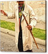 Traversing Santiago De Cuba, Cuba. Acrylic Print