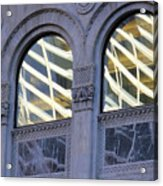 5th Avenue Reflections Acrylic Print