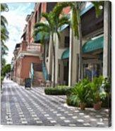 5th Avenue South Naples Florida Acrylic Print