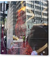 5th Avenue Acrylic Print