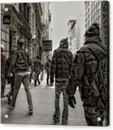 5th Avenue Walk Acrylic Print