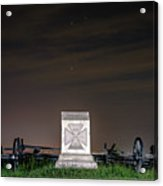 5th Massachusetts Battery Acrylic Print