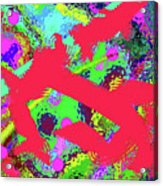 6-17-2015gabcdef Acrylic Print