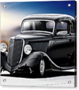 1934 Ford Five-window Coupe Acrylic Print