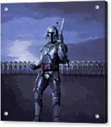 2 Star Wars Art Acrylic Print