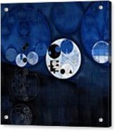 Abstract Painting - Onyx Acrylic Print