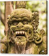 Bali Sculpture Acrylic Print