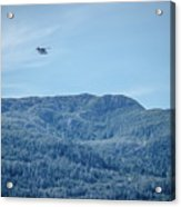 Beautiful Landscapes Around Ketchikan And Tongass Forest In Alas Acrylic Print