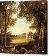 Boddington Henry John A View Of Norton Hall Henry John Boddington Acrylic Print