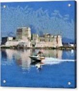 Bourtzi Fortress Acrylic Print