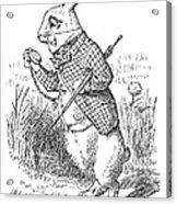 Carroll: Alice, 1865 Acrylic Print