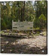 Cassadaga Spiritualist Camp In Florida Acrylic Print