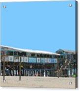 Cocoa Beach Pier Acrylic Print