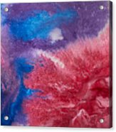 Color Abstracts Acrylic Print